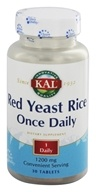 Kal - Red Yeast Rice Once Daily - 30 Tablets