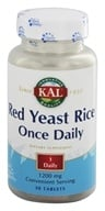 Kal - Red Yeast Rice Once Daily - 30 Tablets by Kal