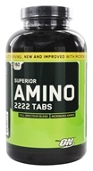 Optimum Nutrition - Superior Amino 2222 Tabs 2222 mg. - 160 Tablets (748927026474)