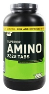 Optimum Nutrition - Superior Amino 2222 Tabs 2222 mg. - 320 Tablets - $13.95