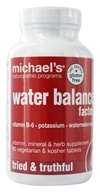 Michael's Naturopathic Programs - Water Balance Factors - 90 Vegetarian Tablets - $16.49