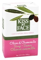 Kiss My Face - Bar Soap Olive & Chamomile - 8 oz. (028367828396)