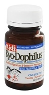 Kyolic - Kyo-Dophilus Kid's Healthy Digestion & Immune Protection Vanilla Flavor - 60 Chewable Tablets