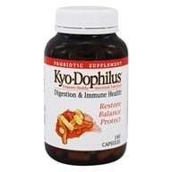 Kyolic - Kyo-Dophilus Probiotic - 180 Capsules, from category: Nutritional Supplements