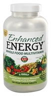 Kal - Enhanced Energy Whole Food Multivitamin Iron Free - 180 Vegetarian Tablets - $28.99