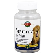 Kal - Virility For Men - 60 Tablets