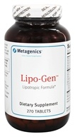 Metagenics - Lipo-Gen - 270 Tablets - $50.95