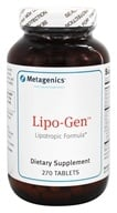 Metagenics - Lipo-Gen - 270 Tablets, from category: Professional Supplements
