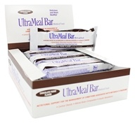 Metagenics - UltraMeal Bar Medical Food Chocolate Fudge - 12 Bars by Metagenics