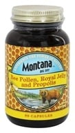 Montana Naturals - Bee Pollen, Royal Jelly & Propolis - 90 Capsules, from category: Nutritional Supplements