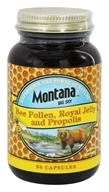 Image of Montana Naturals - Bee Pollen, Royal Jelly & Propolis - 90 Capsules