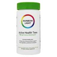 Image of Rainbow Light - Active Health Teen Multivitamin - 90 Tablets
