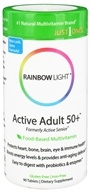 Image of Rainbow Light - Active Adult 50+ Multivitamin - 90 Tablets