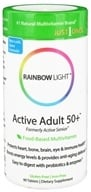 Rainbow Light - Active Adult 50+ Multivitamin - 90 Tablets by Rainbow Light