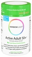 Rainbow Light - Active Adult 50+ Multivitamin - 30 Tablets - $9.43