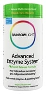 Image of Rainbow Light - Advanced Enzyme System - 180 Vegetarian Capsules