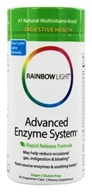 Rainbow Light - Advanced Enzyme System - 90 Vegetarian Capsules (021888351015)