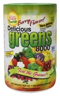 Greens World - Delicious Greens 8000 Berry Flavor - 10.6 oz. by Greens World