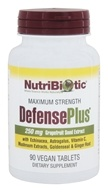 Nutribiotic - Maximum Strength Defense Plus 250 mg. - 90 Vegetarian Tablets
