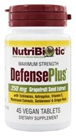 Nutribiotic - Maximum Strength Defense Plus 250 mg. - 45 Tablets - $11.62