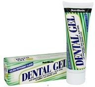 Nutribiotic - Dental Gel Golden Peppermint Flavor - 4.5 oz.