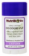 Nutribiotic - Long Lasting Deodorant Lavender Scent - 2.6 oz., from category: Personal Care