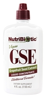 Image of Nutribiotic - GSE - Grapefruit Seed Extract Liquid Concentrate - 4 oz.