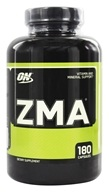 Optimum Nutrition - ZMA - 180 Capsules (748927021714)