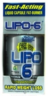 Nutrex - Lipo 6 Maximum Strength Accelerated Fat-Loss Formula - 120 Liqui-Caps