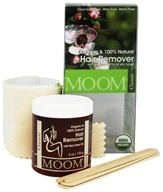 Moom - Organic Hair Removal Kit with Tea Tree Oil