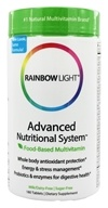 Image of Rainbow Light - Advanced Nutritional System Multivitamin - 180 Tablets