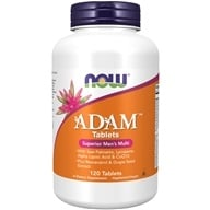 NOW Foods - ADAM Superior Men's Multiple Vitamin - 120 Tablets