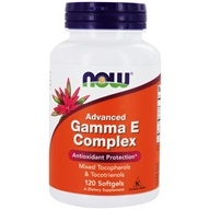 Image of NOW Foods - Advanced Gamma E - 120 Softgels