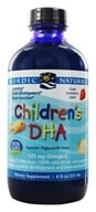 Image of Nordic Naturals - Children's DHA Liquid Strawberry - 8 oz.