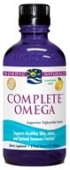 Image of Nordic Naturals - Complete Omega Liquid Lemon - 8 oz. (formerly Omega-3.6.9)
