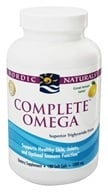 Image of Nordic Naturals - Complete Omega 3 6 9 Lemon 1000 mg. - 180 Softgels