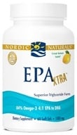 Image of Nordic Naturals - EPA Xtra Natural Triglyceride Form Lemon 1000 mg. - 60 Softgels