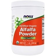 NOW Foods - Alfalfa Powder - 1 lb., from category: Herbs