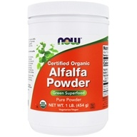 Image of NOW Foods - Alfalfa Powder - 1 lb.