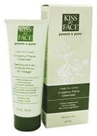 Kiss My Face - Potent & Pure Clean For A Day Creamy Face Cleanser - 4 oz.