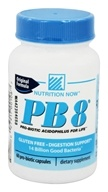 Nutrition Now - PB 8 Pro-Biotic Acidophlus - 60 Capsules (027917001067)