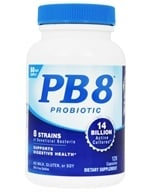 Nutrition Now - PB 8 Pro-Biotic Acidophilus - 120 Capsules (027917001128)