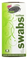 Image of Swisspers Premium Products - Swisspers Organic Cotton Swabs - 180 Pack(s)