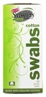 Swisspers Premium Products - Swisspers Organic Cotton Swabs - 180 Pack(s)