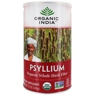 Organic India - Fiber Harmony Certified Organic Psyllium Whole Husk - 12 oz.
