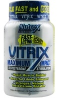 Image of Nutrex - Vitrix Maximum Impact Testosterone Stimulator - 90 Capsules