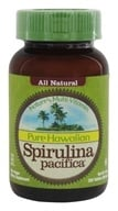 Nutrex Hawaii - 순수한 Hawaiian Spirulina Pacifica 분말 500 mg. - 200 정제 (이전에 Spirulina 탭)