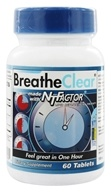 Nutritional Therapeutics - Breathe Clear with NT Factor - 60 Tablets (703435950604)