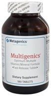 Metagenics - Multigenics - 180 Tablets