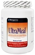 Metagenics - UltraMeal Medical Food Strawberry Supreme - 21.5 oz. - $34.95